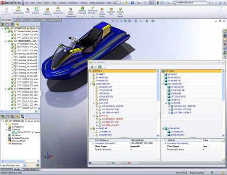 Design to Engineering BOM compare in SolidWorks Environment