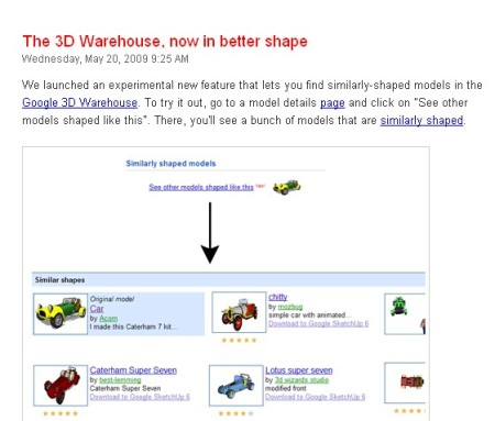 3D Warehouse from Google