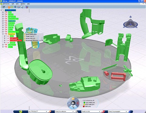 Dassault Systemes 3DLive product