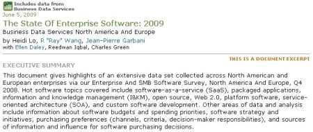 The State of the art enterprise 2009