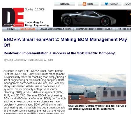 deskeng-sndc-bom-implementation
